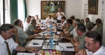 Az OMVK titkári értekezlete, 2015 június 9.