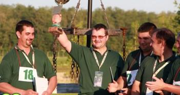 A győztes, Gál Sándor, immáron másodszor a serleggel