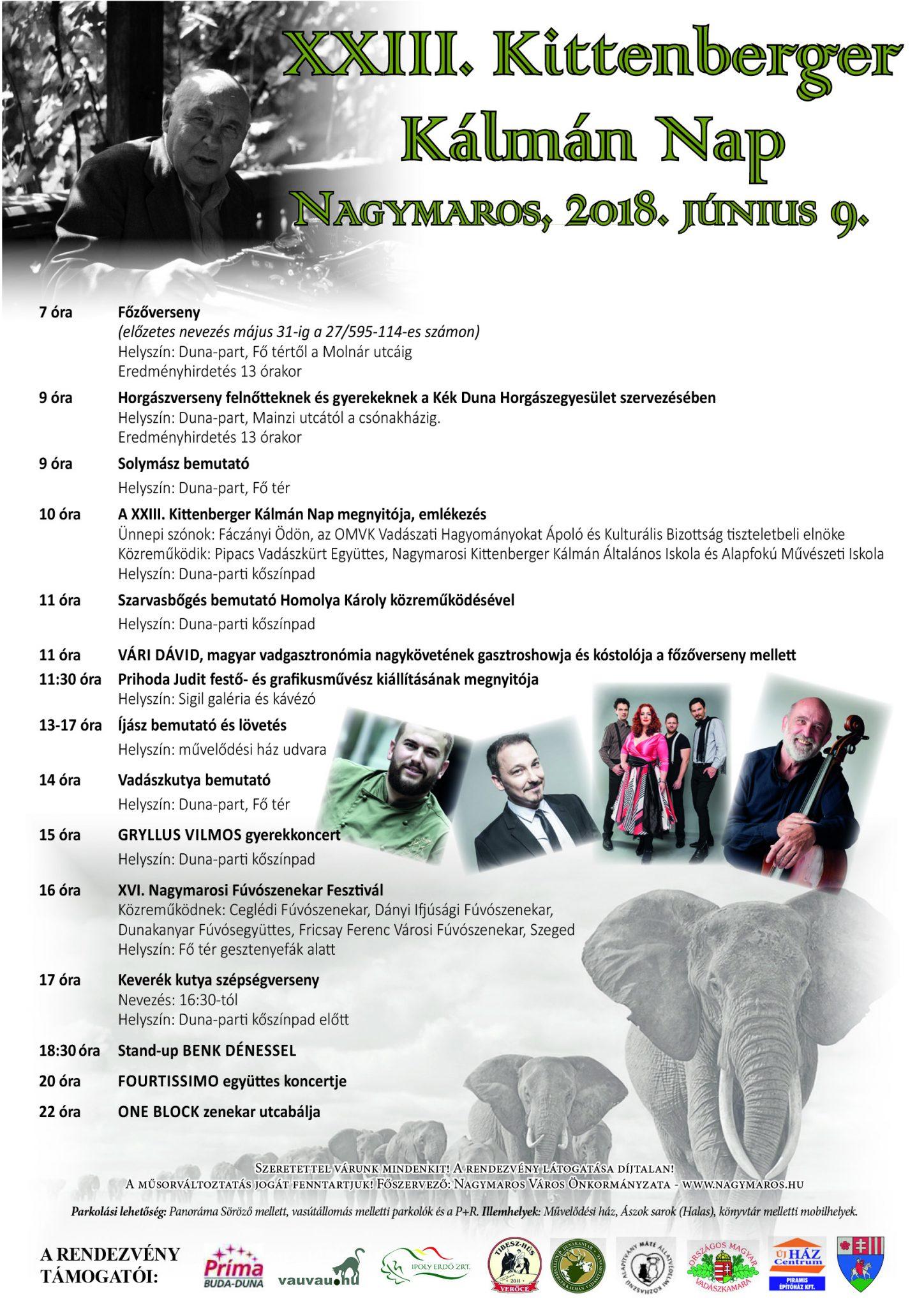 Kittenberger plakát 2018