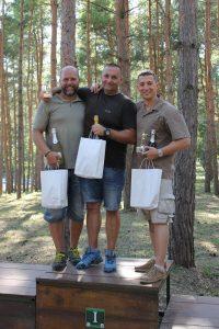 A lövészverseny győztesei